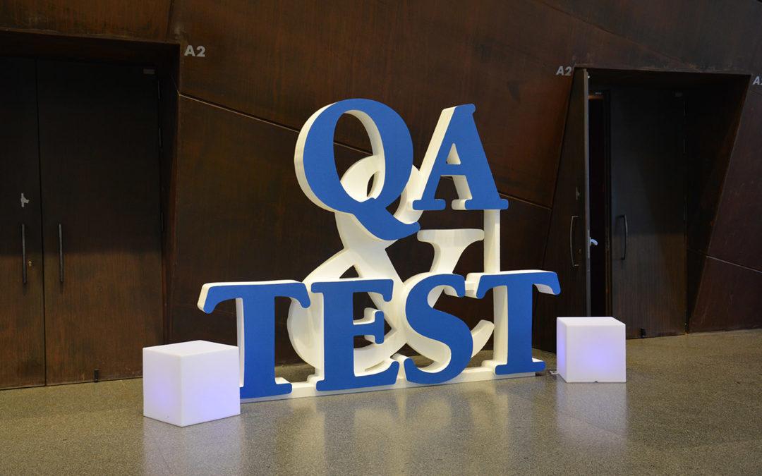 SQS organizes QA&TEST 2018: First speakers already announced!