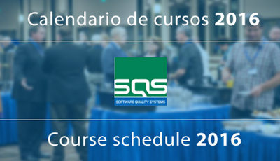 SQS presenta el calendario de cursos 2016 de su Aula Formativa
