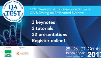QA&TEST presents the 16th edition